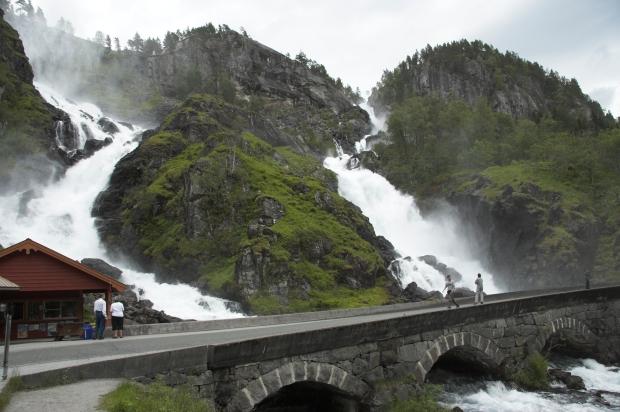 Лотефосский водопад