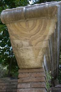Здесь в Остии была синагога