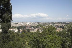 Вид с Яникула на город