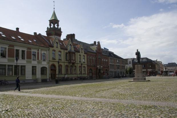 Рыночная площадь в Кристиансанде