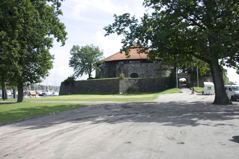 Остатки крепости Кристиансанда