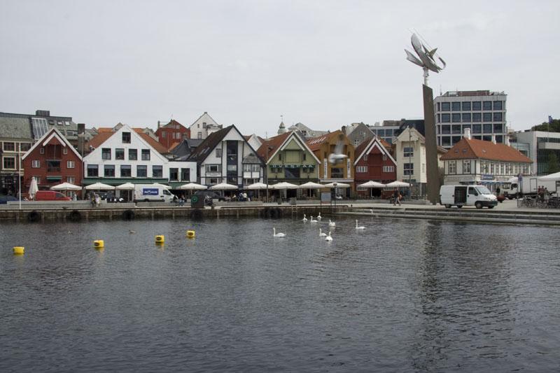 Домики в гавани Ставангера