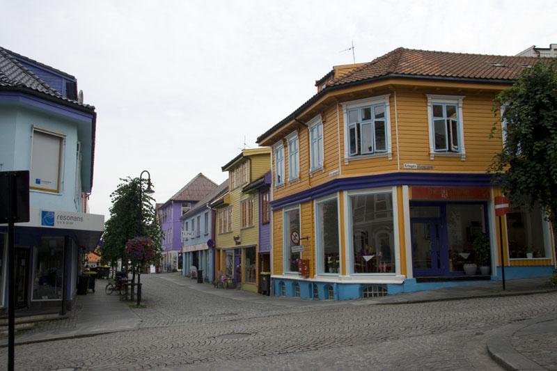 Пешеходные улицы Ставангера