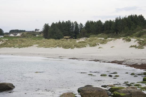 Типичный южнонорвежский пляж