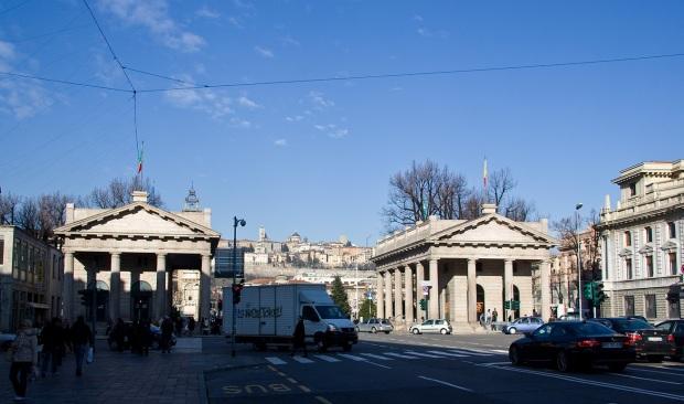 Нижний город Бергамо