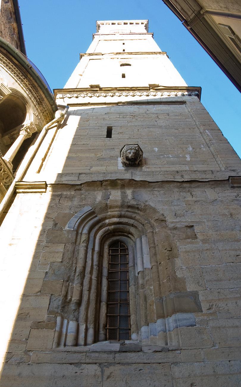 Башня в старом городе Бергамо