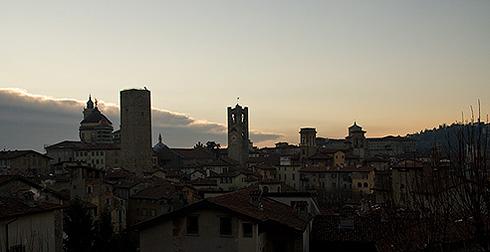 Крыши Бергамо