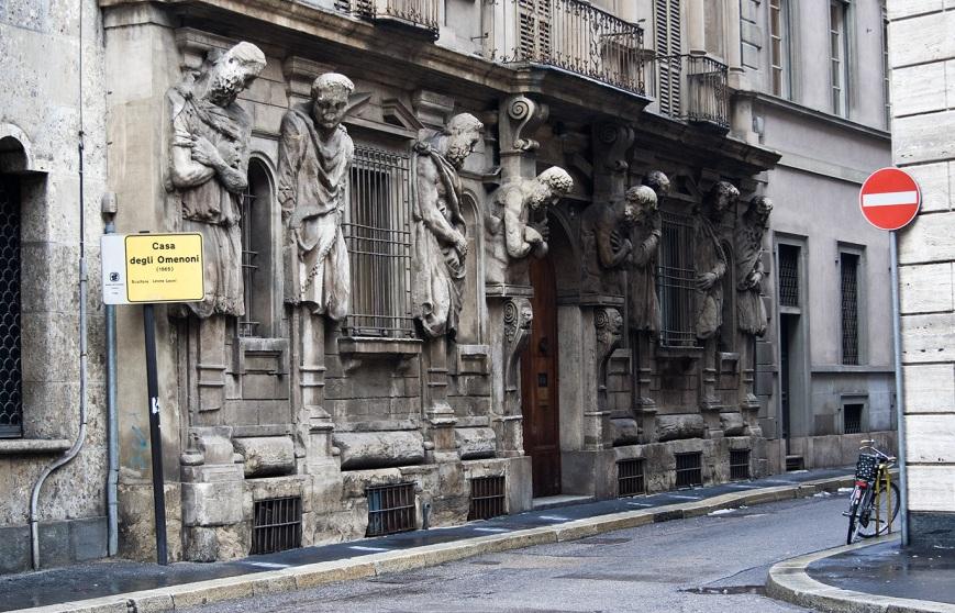 Миланский дом с атлантами