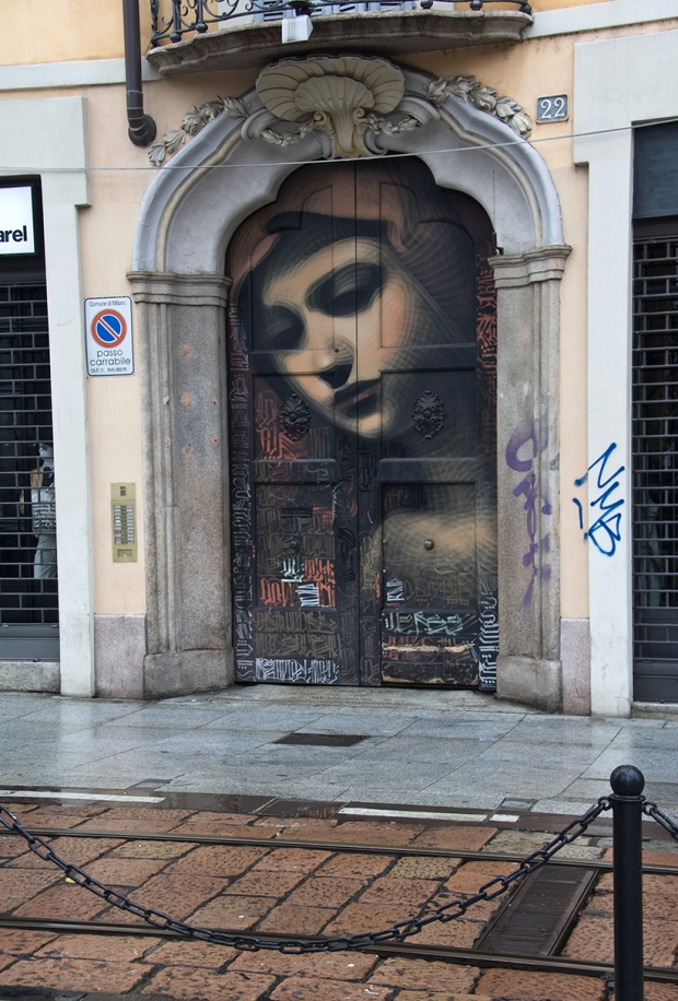 Граффити около Сан-Лоренцо