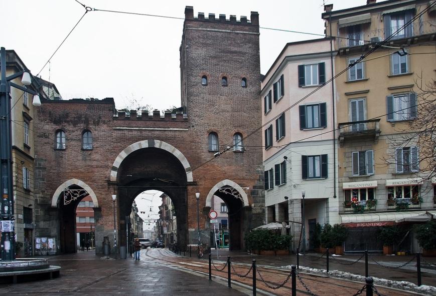 Ворота Porta Ticinese