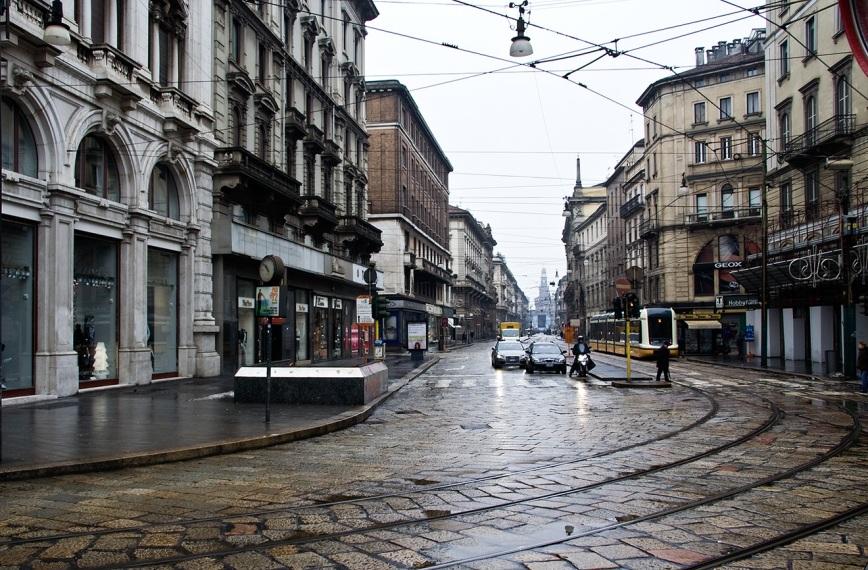 Милан в рождественское утро
