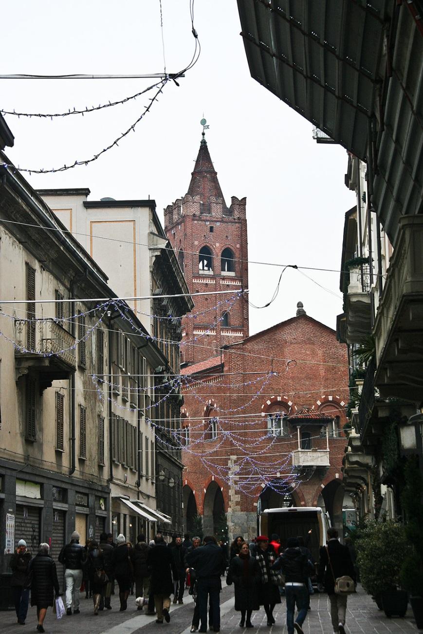 Старые улицы Монцы
