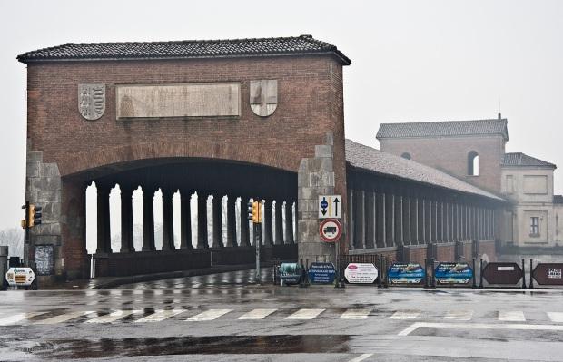 Средневековый мост через реку Тичино - Ponte Coperto