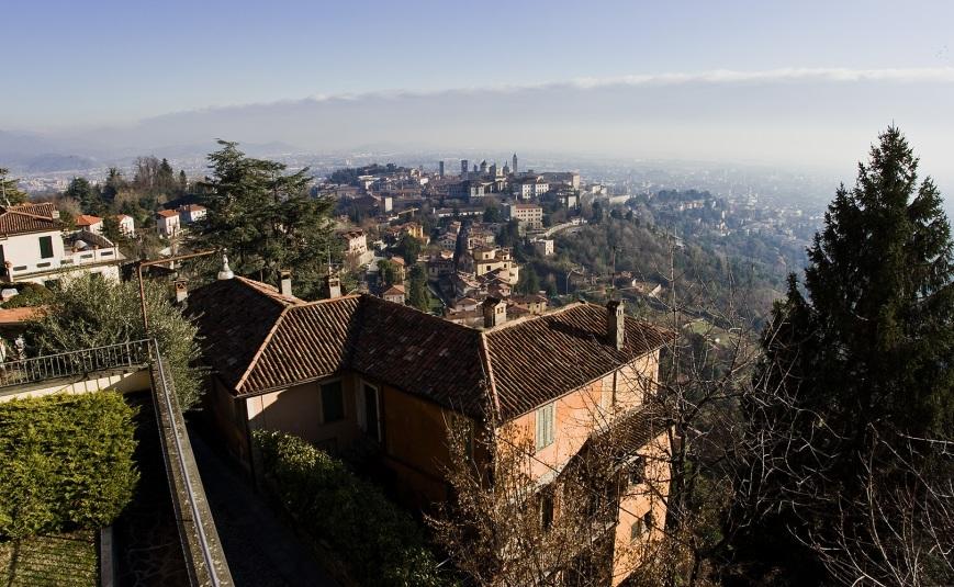 Поселок Сан Вигилио над Бергамо