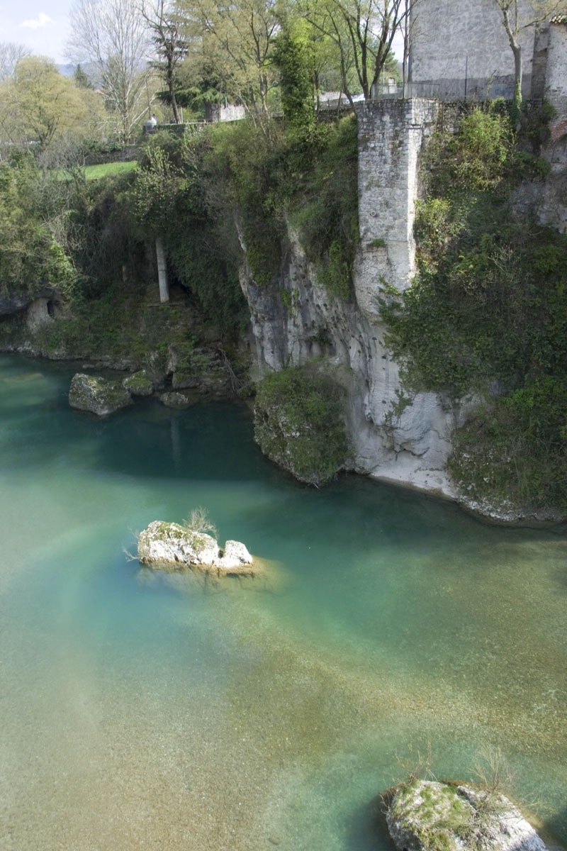 Речка в Чивидале дель Фриули