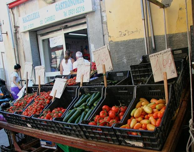 Рынок в Сиракузах