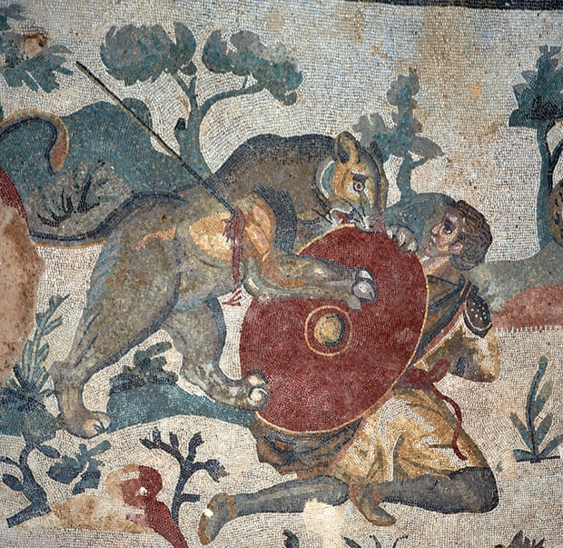 Мозаики Виллы Казале. Охота