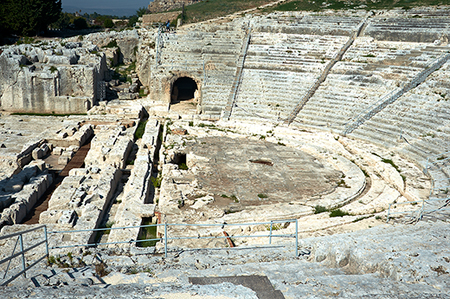 Сиракузы. Театр