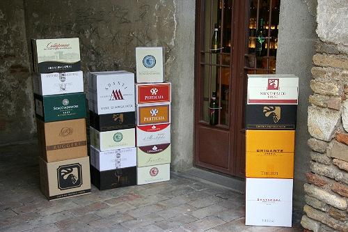 Винотека в Монтефалько