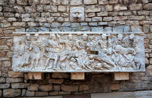 Остатки античности в Сполето